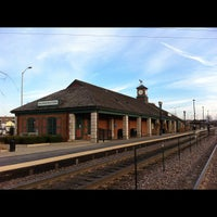 Photo taken at Metra - Barrington by Brad S. on 11/18/2012