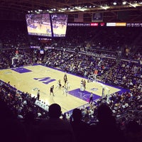 Photo taken at Alaska Airlines Arena by Angie D. on 1/17/2013