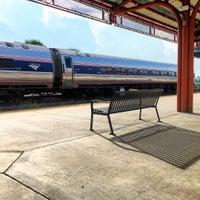 Photo taken at Tri-Rail - Delray Beach Station by J. Alberto P. on 10/17/2015
