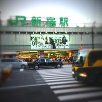 Photo taken at Shinjuku Station by Ryo K. on 9/20/2013