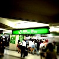 Photo taken at Shinjuku Station by Ryo K. on 7/15/2013