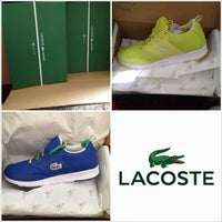 Photo taken at Lacoste Outlet by Terry B. on 8/23/2014