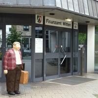 Photo taken at Finanzamt Witten by Simone R. on 6/25/2014
