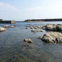 Photo taken at 宮川湾(宮川フィッシャリーナ) by GOGOGO! on 8/4/2013