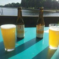 Photo taken at Cafe Buiten by Eva B. on 6/14/2014