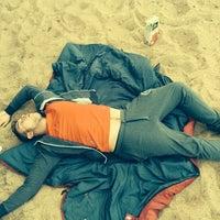 Photo taken at Пляж Оки by Matthew R. on 7/12/2014