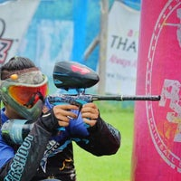 Photo taken at Tub chang, Paintball by Tingman25 H. on 9/26/2015