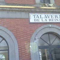 Photo taken at Estación de Talavera de la Reina by JG d. on 11/10/2012