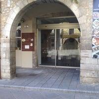 Photo taken at Cafè De La Plaça by xevipa m. on 1/12/2013