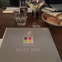 Photo taken at Cafe Restaurant Rust Wat by Désirée G. on 1/3/2016