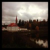 Снимок сделан в Приоратский дворец / Priory Palace пользователем Sergey Z. 10/7/2012