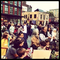 Photo taken at Gansevoort Plaza by Clay W. on 10/20/2012