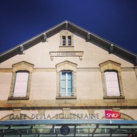 Photo taken at Gare SNCF de La Souterraine by Cyril A. on 8/17/2013