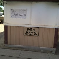 Photo taken at Pete's Hamburger Stand by Thadius K. on 5/23/2013