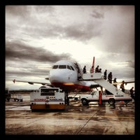 Photo taken at Ercan Airport (ECN) by Ezgi Ç. on 12/7/2012