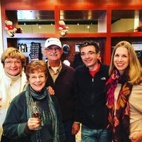 Photo taken at LangeTwins Family Winery and Vineyards by Andrew B. on 12/27/2015
