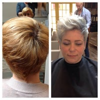 Photo taken at Glam And Tonics AVEDA Salon by Juan L. on 3/18/2015