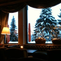 Photo taken at Gstaad Palace Hotel by Maria S. on 1/13/2013