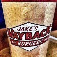 Photo taken at Jake's Wayback Burger by Cas T. on 3/15/2014