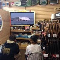 Photo taken at Freeline Design Surf Shop by Tara M. on 5/30/2014