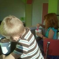 Photo taken at Yogi Frozen Yogurt by Jacquelyn M. on 10/24/2012