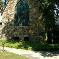 Photo taken at Union Church of Pocantico Hills by Tom C. on 9/4/2016