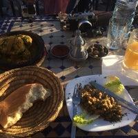 Photo taken at Restaurant Café Berbère Chez Brahim 1 by Aidyll Shah A. on 1/18/2017