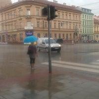 Photo taken at Pionýrská (tram, bus) by Kriste P. on 8/9/2016