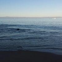 Photo taken at Breakwater Beach by kumi m. on 1/26/2015
