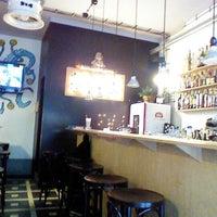 Photo taken at BG bar by Gabriela L. on 2/12/2013