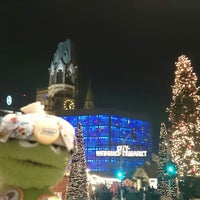Photo taken at Weihnachtsmarkt an der Gedächtniskirche by Michael K. on 12/27/2014