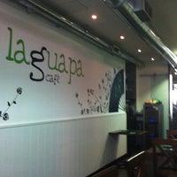 Photo taken at La Guapa Cafe by Jose Luis on 3/10/2013