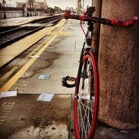 Photo taken at Metrolink Glendale Station by Diah on 12/26/2012