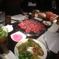 Photo taken at Manna Korean BBQ by Diah on 1/27/2013
