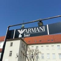 Photo taken at Caffe bar Armani by Mara B. on 3/14/2014