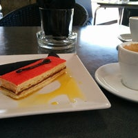 Photo taken at Cafetería Viena by Domingo G. on 6/18/2014