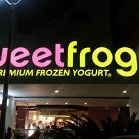 Photo taken at Sweet Frog by albertyko n. on 3/15/2013