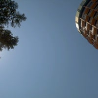 Photo taken at Flinders Square by Sonia W. on 9/24/2012
