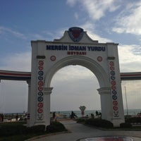 Photo taken at Mersin İdman Yurdu Meydanı by Ersan C. on 3/9/2013