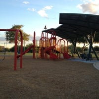 Photo taken at Cooper Commons Park - Red Playground by Jay L. on 10/21/2012