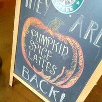 Photo taken at Starbucks by Christopher U. on 10/6/2012