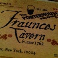 Photo taken at Fraunces Tavern by rafa r. on 12/27/2012