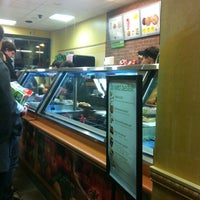 Photo taken at SUBWAY by Layanne A. on 11/1/2012