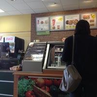 Photo taken at SUBWAY by Layanne A. on 7/15/2013