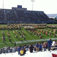 Photo taken at Delaware Stadium by Johnny . on 9/15/2012