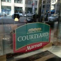Photo taken at Courtyard by Marriott New York Manhattan/SoHo by Dan M. on 2/3/2013