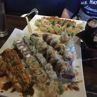 Photo taken at Samurai Japanese Cuisine by Rooster B. on 10/21/2017