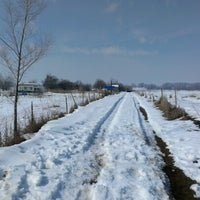 Photo taken at the farm by Mike Q. on 2/17/2013