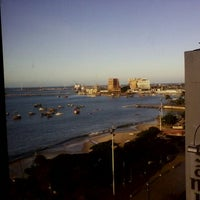 Photo taken at Vela e Mar Hotel Fortaleza by Mateus M. on 12/1/2012
