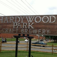 Photo taken at Hardywood Park Craft Brewery by Brian B. on 7/27/2013